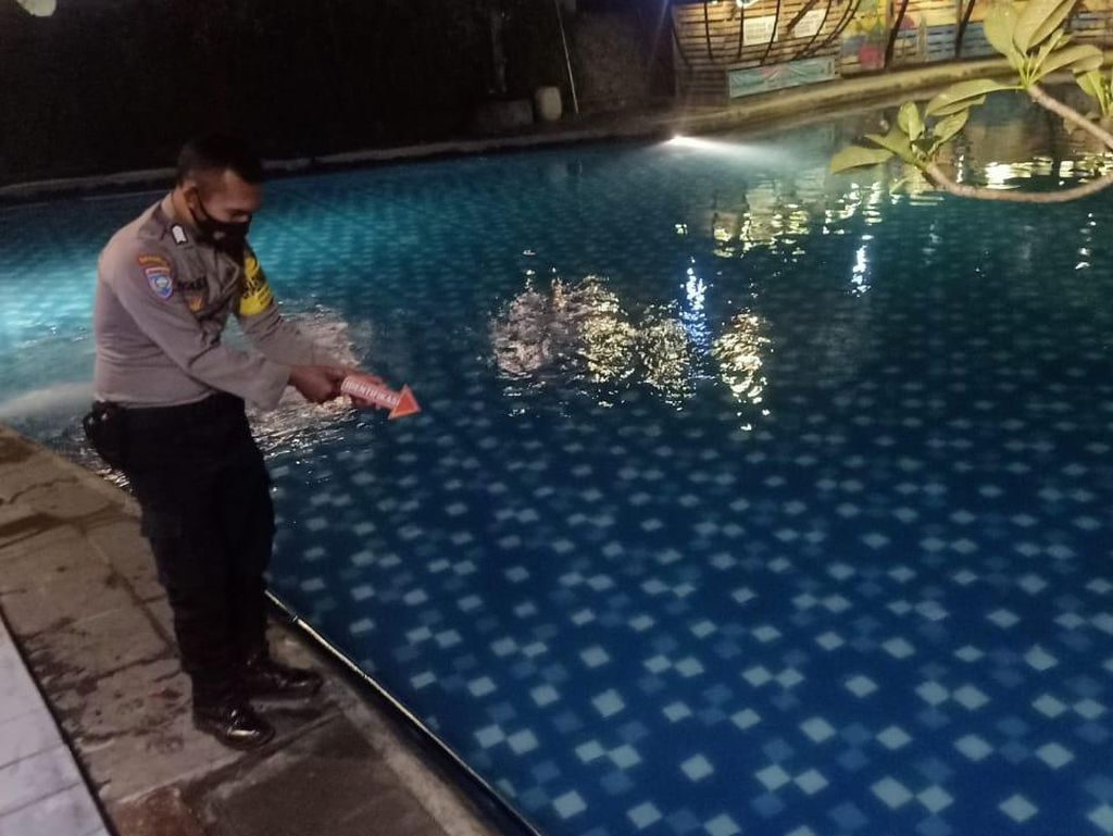 Bocah 4 Tahun Tewas Tenggelam di Kolam Renang Hotel Kediri