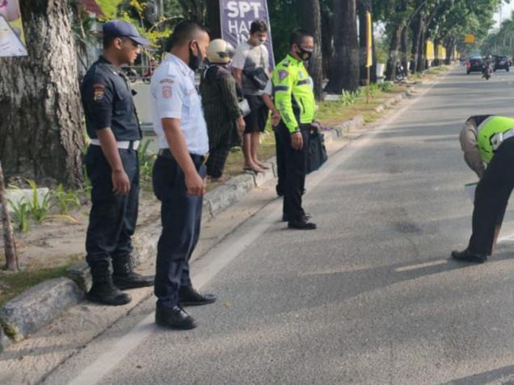 Pemotor-Pesepeda Tewas Ditabrak di Pekanbaru, Pemobil Jadi Tersangka