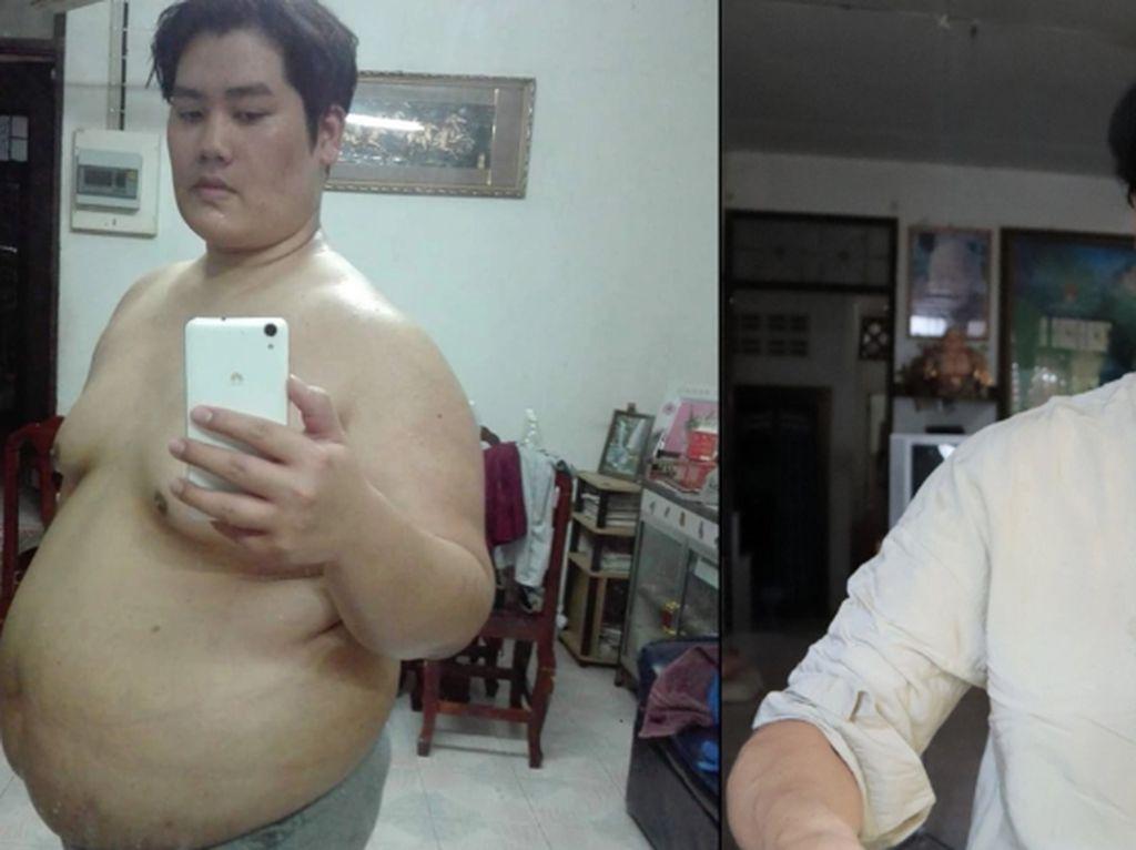 Keren! Pria Ini Berhasil Turun BB 81 Kg dengan Clean Eating