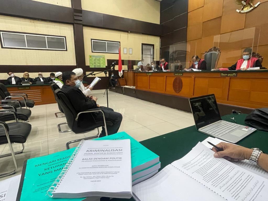 HRS Khawatir Jutaan Orang Kepung Pengadilan Gegara Hinaan ke Imam Besar