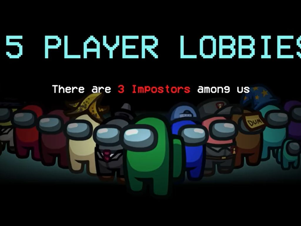 Among Us Bisa Dimainkan Hingga 15 Pemain, Impostor Jadi Lebih Banyak