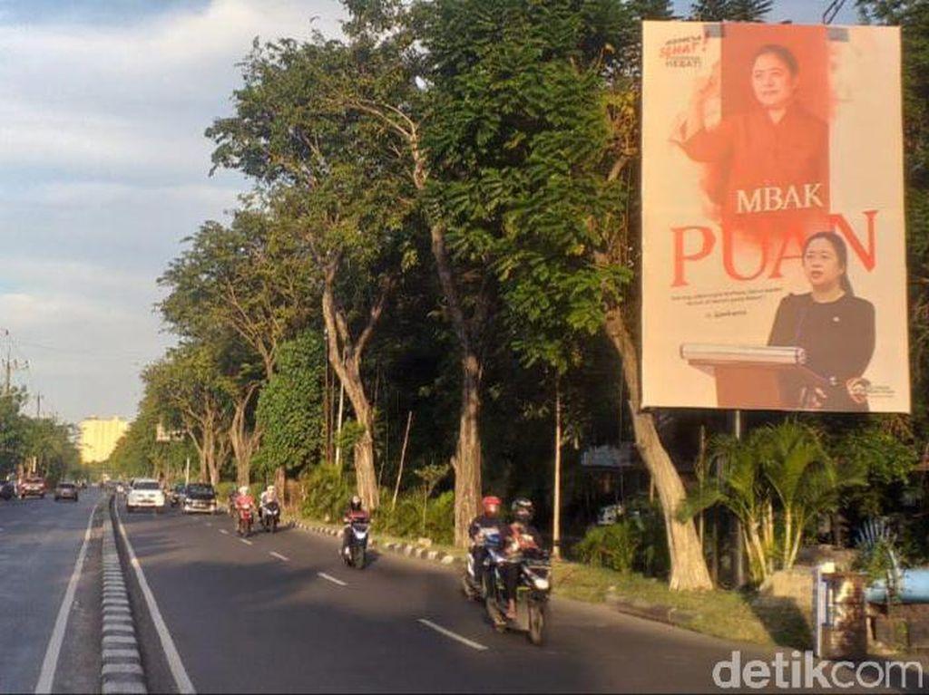 PDIP Jatim Tak Pasang Baliho Mbak Puan yang Bertebaran