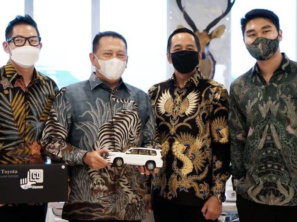 Bamsoet Dukung Rencana Touring Jakarta-Bali Komunitas Land Cruiser