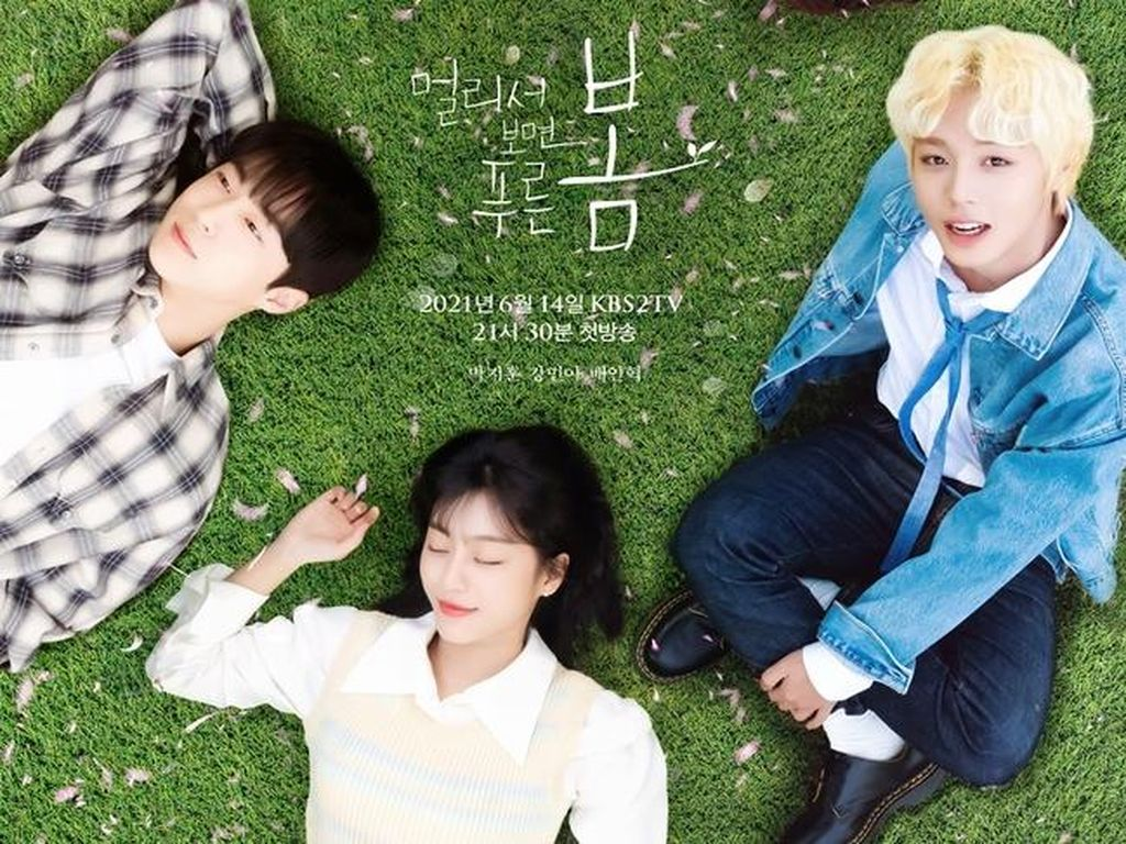 5 Fakta Drama Korea Park Ji Hoon At a Distance Spring is Green