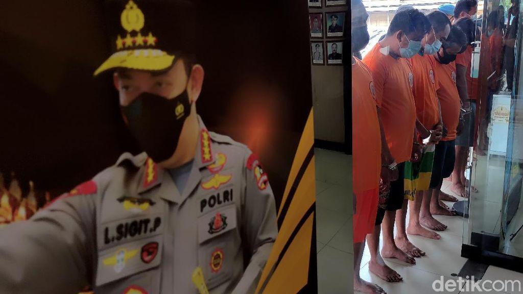 Disorot Jokowi, Pelaku Pungli di Tanjung Priok Dibekuk Polisi