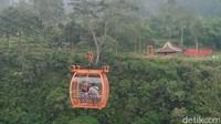 Dibikin Deg-degan, Naik Gondola ke Kampung Terpencil di Klaten