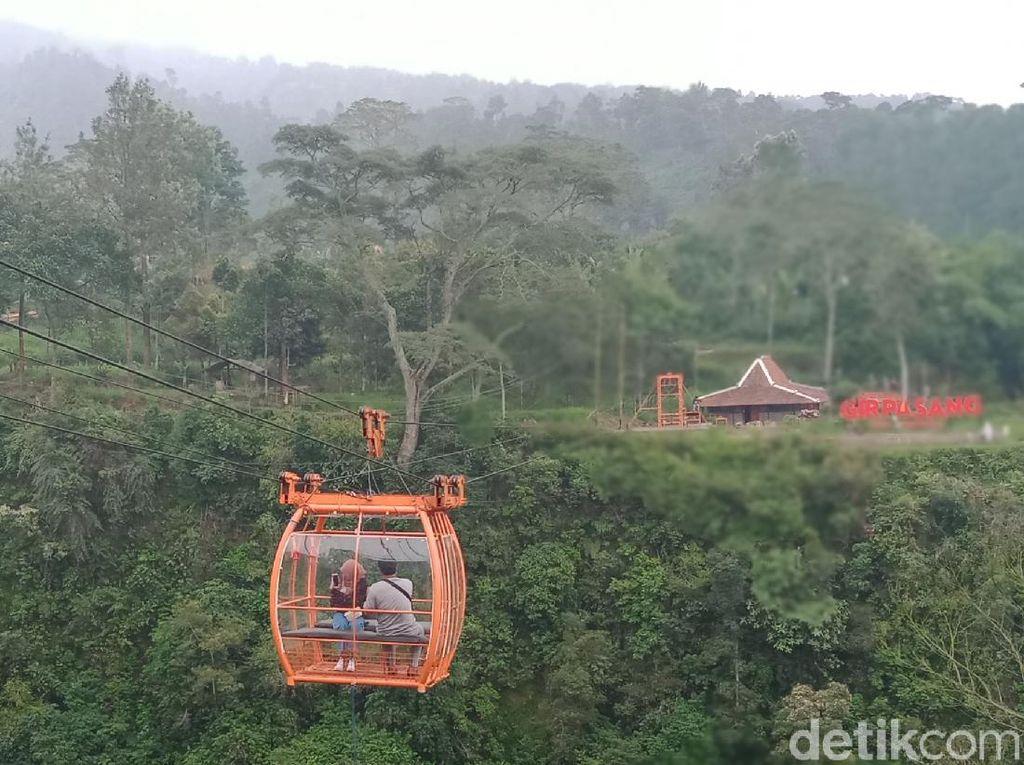Dusun Terpencil di Klaten, ke Sana Harus Naik Gondola
