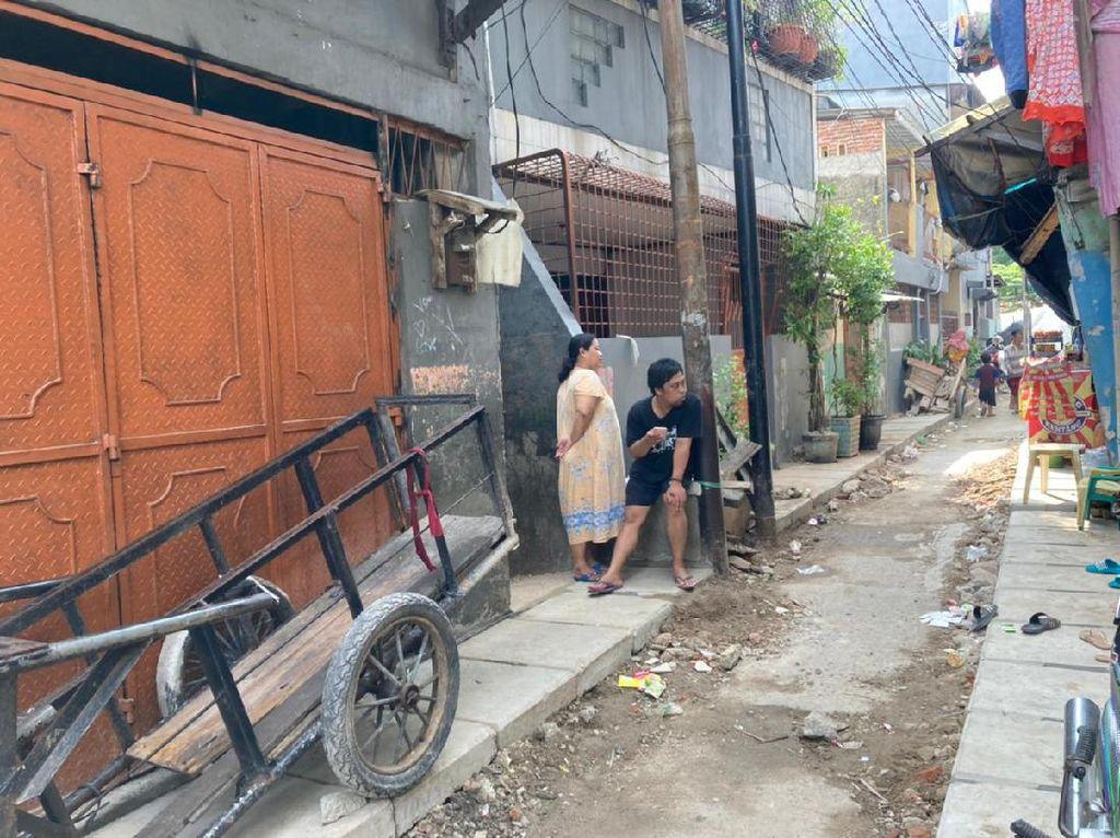 Got yang Halangi Rumah di Tambora Dipangkas, Saluran Dibangun Dua Sisi
