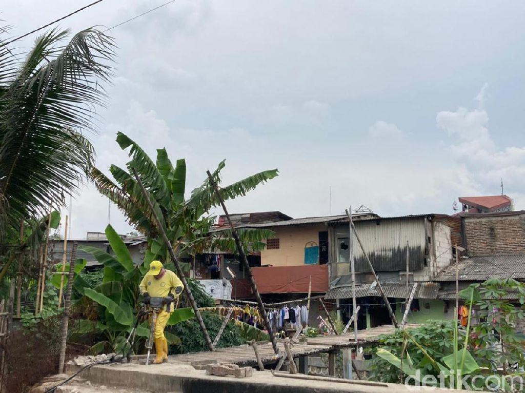 Jembatan Bambu Kebon Jeruk Akan Diganti Jembatan Beton, Selesai 3 Pekan