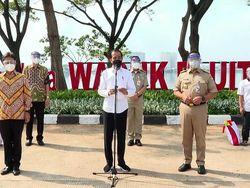 Instruksi Jokowi ke Anies: Pekan Depan Vaksinasi 100 Ribu Orang/Hari