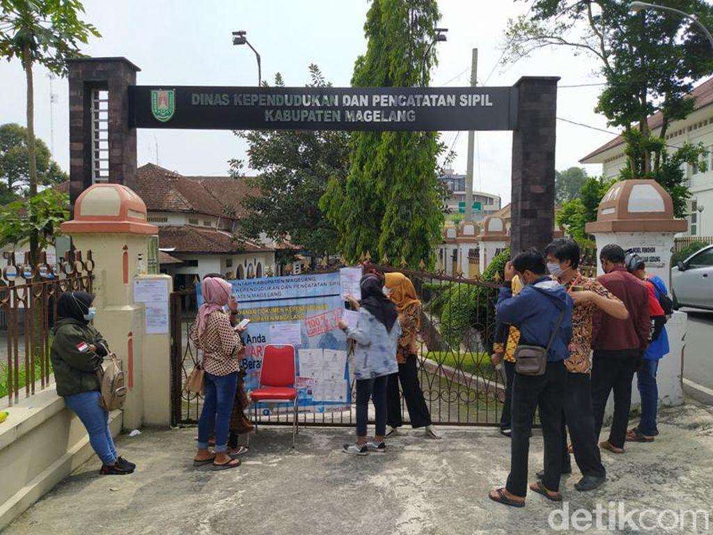 Staf Kena COVID-19, Kantor Dukcapil Kabupaten Magelang Ditutup