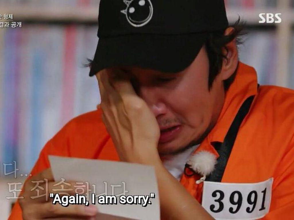 Tinggalkan Running Man Setelah 11 Tahun, Lee Kwang Soo Nangis dan Minta Maaf