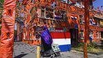 Semarak Euro 2020, Kota di Belanda Ini Jadi Serba Oranye