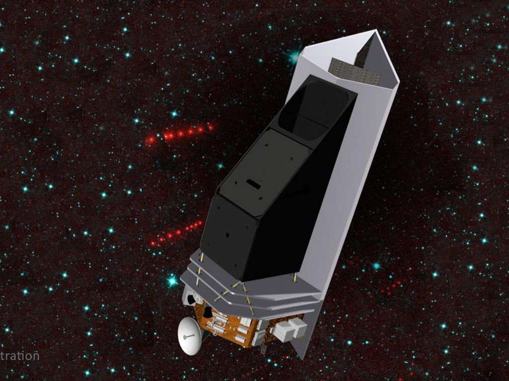 NASA Bikin Teleskop Luar Angkasa untuk Lindungi Bumi dari Asteroid