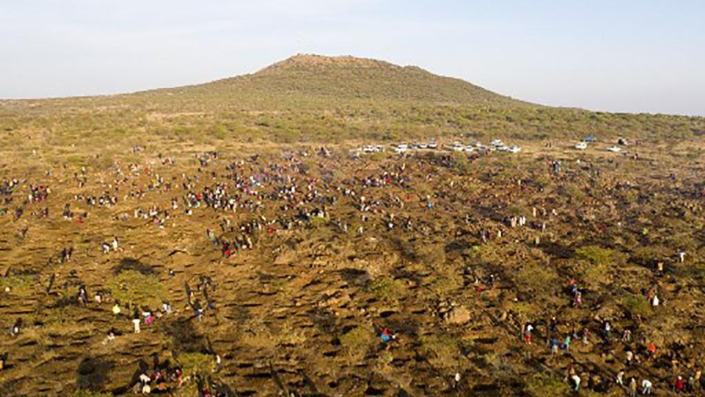 1.000 Pemburu Berlian Berlomba Keluar dari Kemiskinan