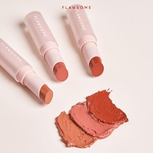 FLAWSOME Rose Velvet Lip Balm