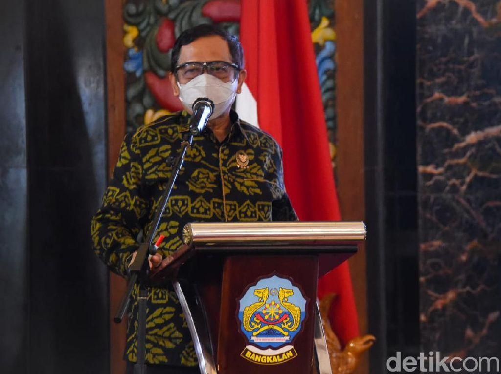 Mahfud Md Tolak Jabatan Presiden 3 Periode