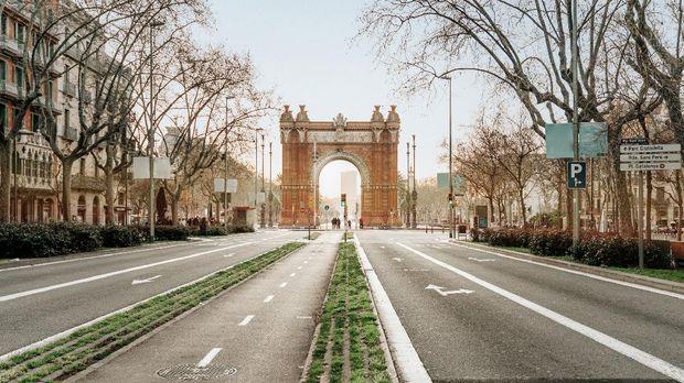 Passeig de Sant Joan di Barcelona