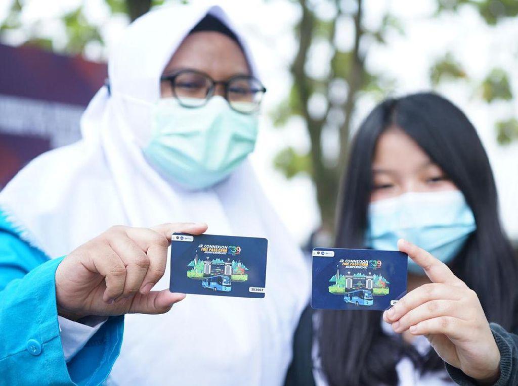 Hari Jadi Bogor, Perum PPD Gratiskan Bus JR Connexion Selama Sebulan