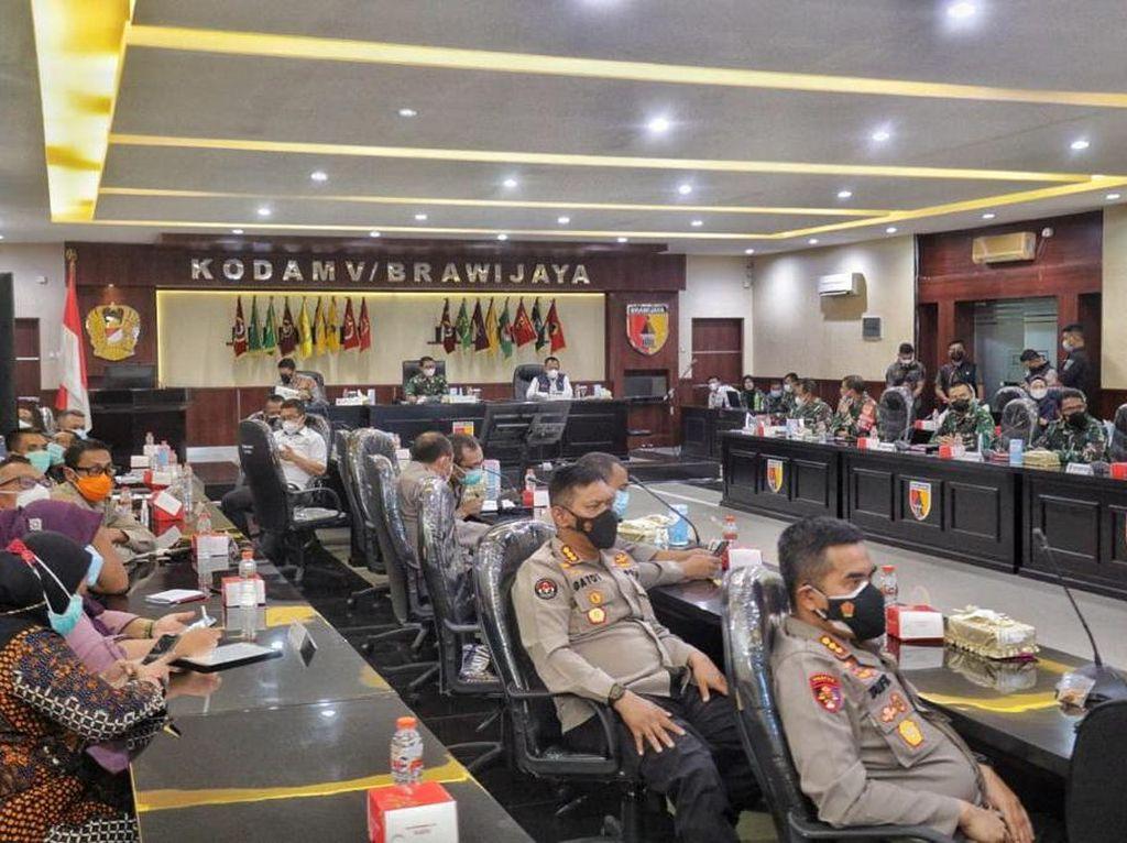 Varian India Ditemukan di Bangkalan, Forkopimda Jatim Gelar Anev Khusus