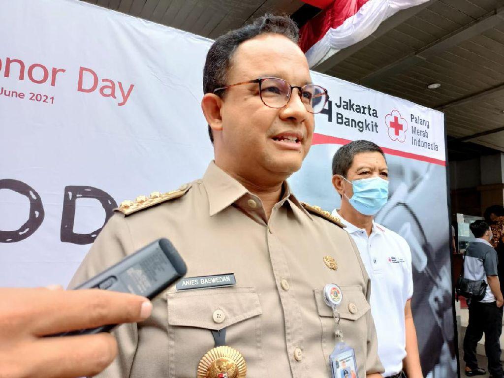Lawan COVID-19, Gubernur Anies Bagikan Tips Edukatif saat Libur Akhir Pekan