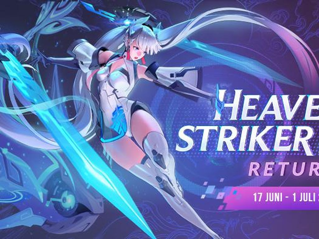 Skin Heavenly Striker Airi Kembali Hadir di Arena of Valor