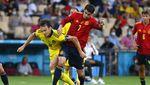 Skor Kacamata Spanyol vs Swedia di Depan Spider-Man & Superman