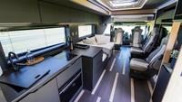 Lihat Lebih Dekat Truk Tronton Scania yang Dimodifikasi Jadi Motorhome