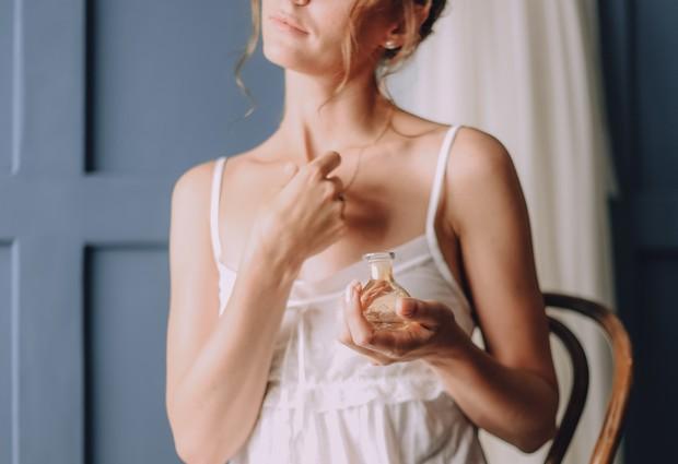 Using parfume