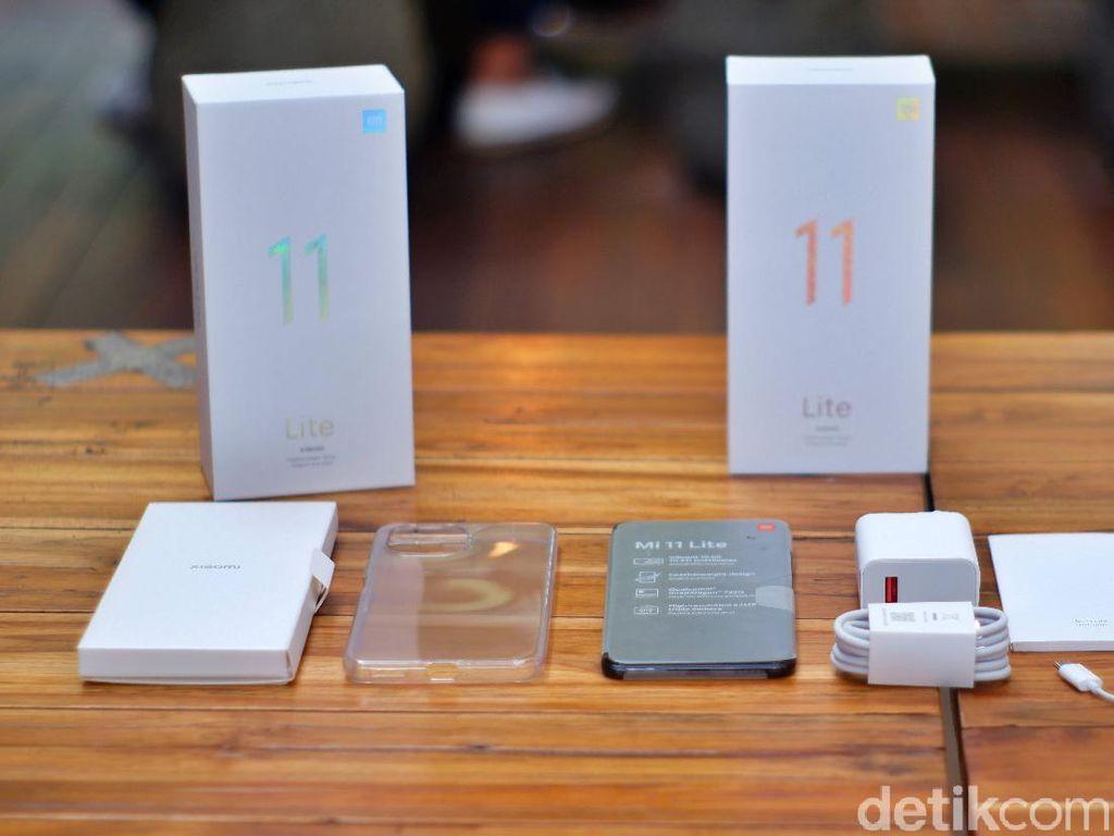 Keunggulan Xiaomi Mi 11 Lite yang Diluncurkan di Indonesia Hari Ini