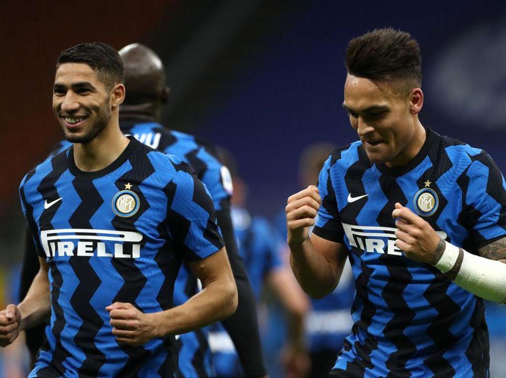 Inter Milan Akan Lepas Hakimi, tapi Tidak dengan Martinez