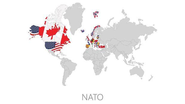 ilustrasi peta NATO