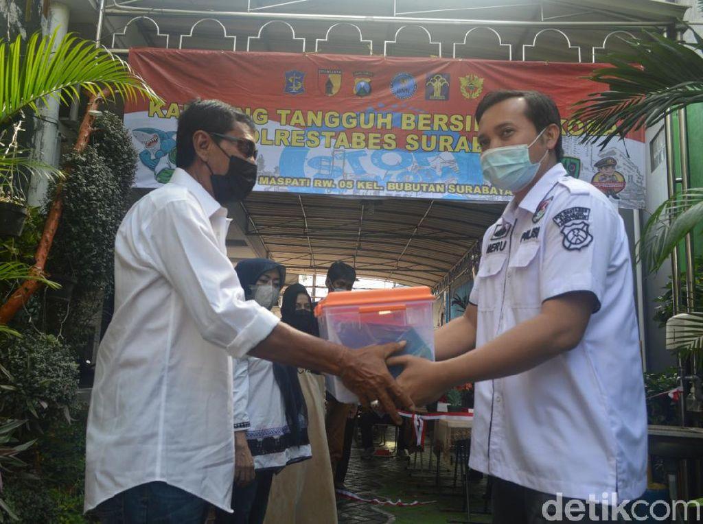 Kampung Tangguh Bersih Narkoba Dibentuk di Surabaya, Ini Tujuannya