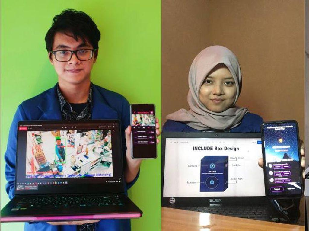 Mahasiswa ITS Ciptakan Alat Pantau Physical Distancing hingga Pemakaian Masker
