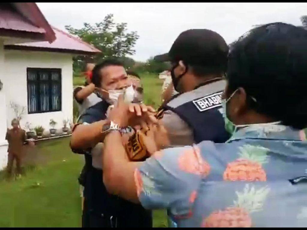 Pukuli Mahasiswa yang Demo, Oknum Kades di Sinjai Sulsel Dipolisikan