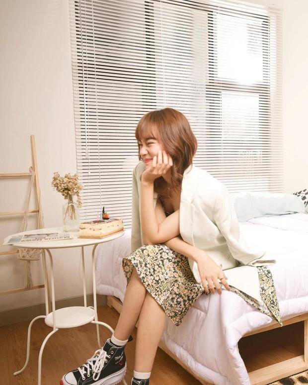 Korean look bak eonni Korea ala Indah Kusuma.