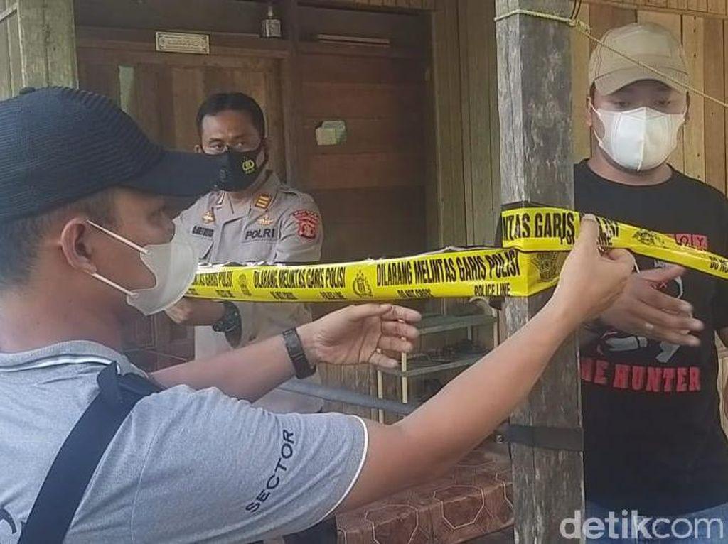 Polisi Ungkap Motif Pria Tebas Istri-Anak di Kaltim