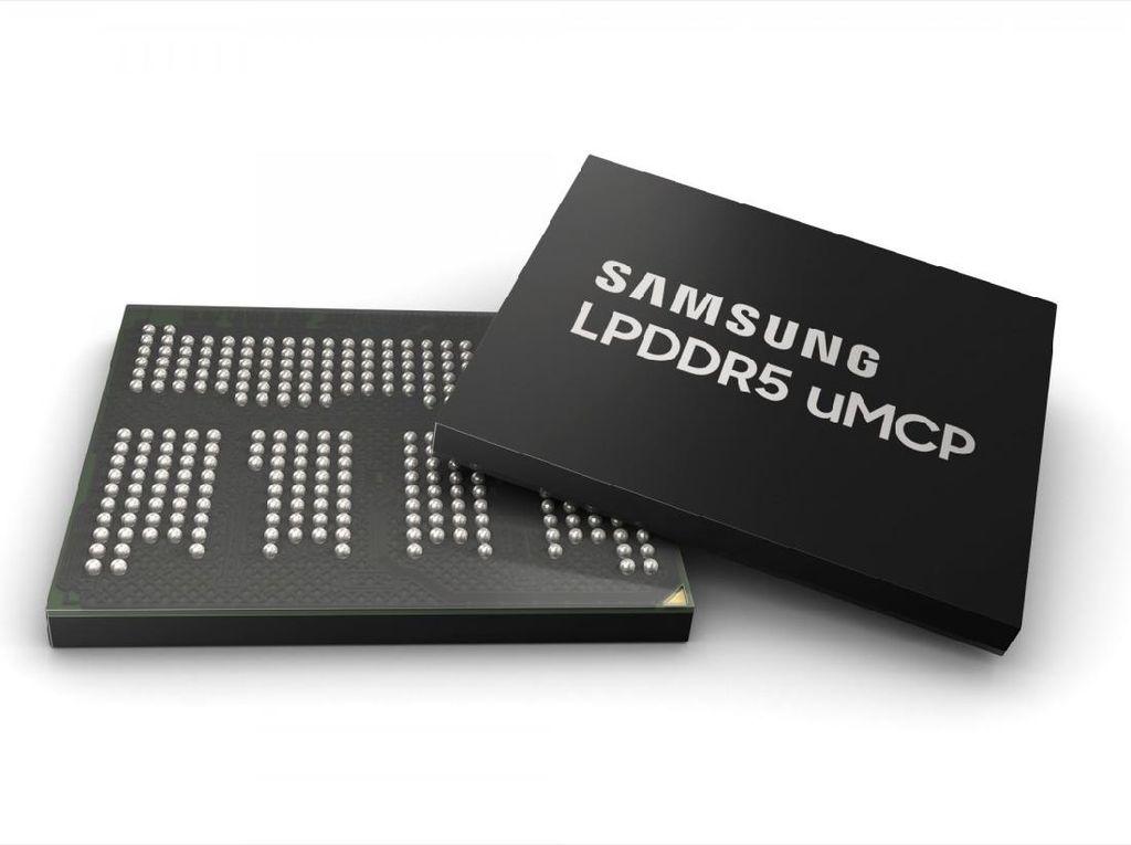 Samsung LPDDR5 uMCP, RAM yang Terintegrasi dengan Storage