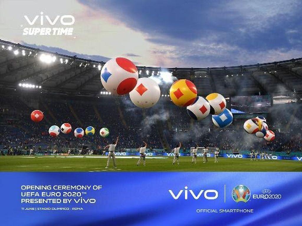 Ada Vivo di Pembukaan UEFA EURO 2020