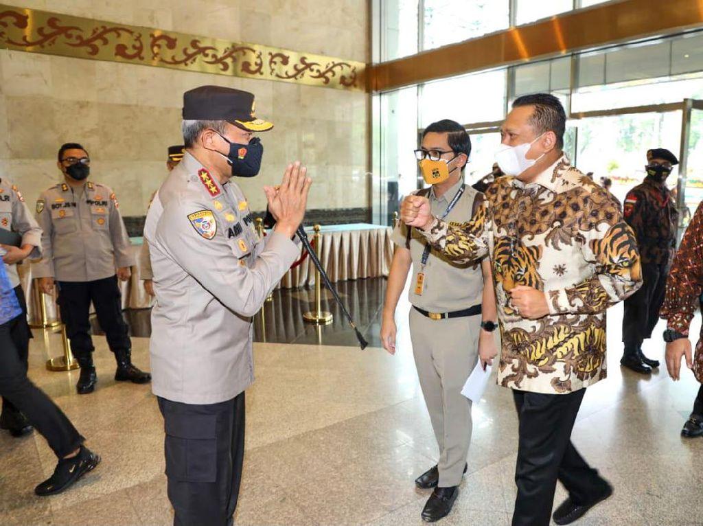Hadapi Era Police 4.0, Bamsoet Pesan Ini ke Polri