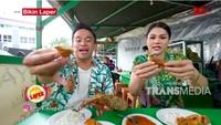 Bikin Laper! Anwar BAB dan DJ Katty Ketagihan Pecel Lele Goreng Tepung