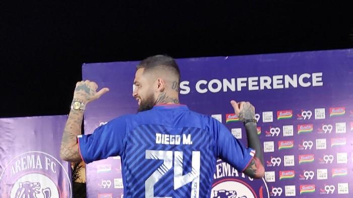 Diego Michiels gabung Arema FC dikontrak semusim