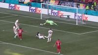 Euro 2020: Denmark Ungguli Belgia 1-0 di Babak Pertama