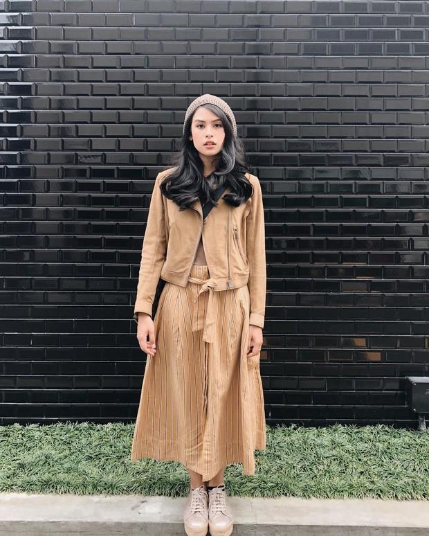 gaya fashion Maudy Ayunda