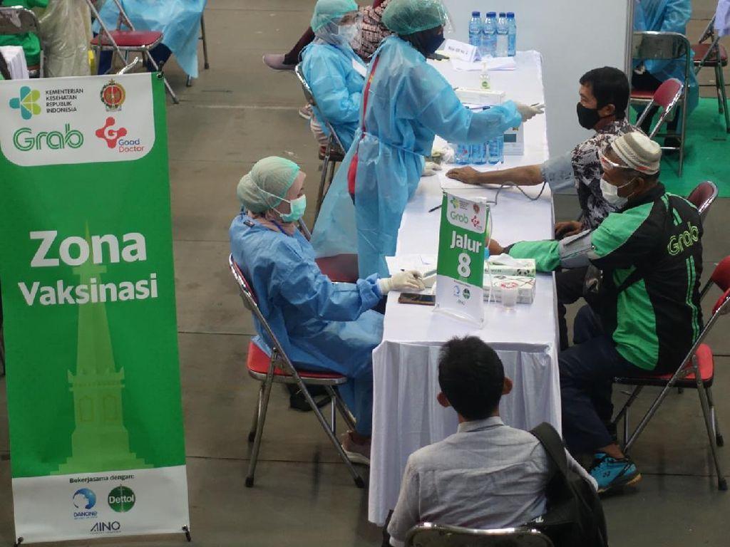 Grab Hadirkan Pusat Vaksinasi Inklusi di Yogyakarta