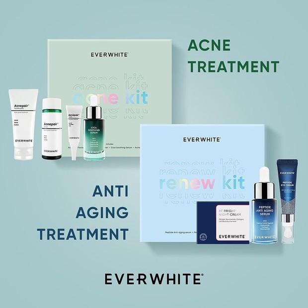Beri yang terdekat hadiah perawatan kulit wajah berupa skincare set yang praktis dan telah disesuaikan permasalahan kulit dan cara merawat wajah agar glowing.