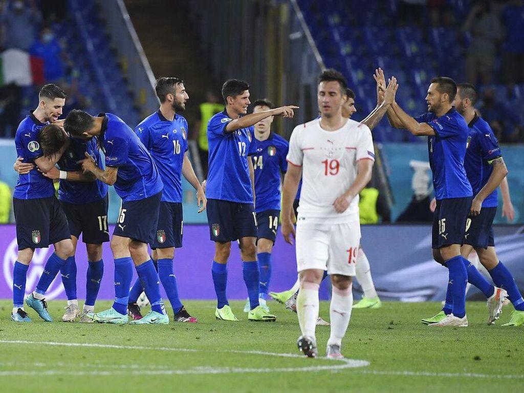 Hasil Euro 2020/2021 Tadi Malam: Wales Menang, Italia Melaju