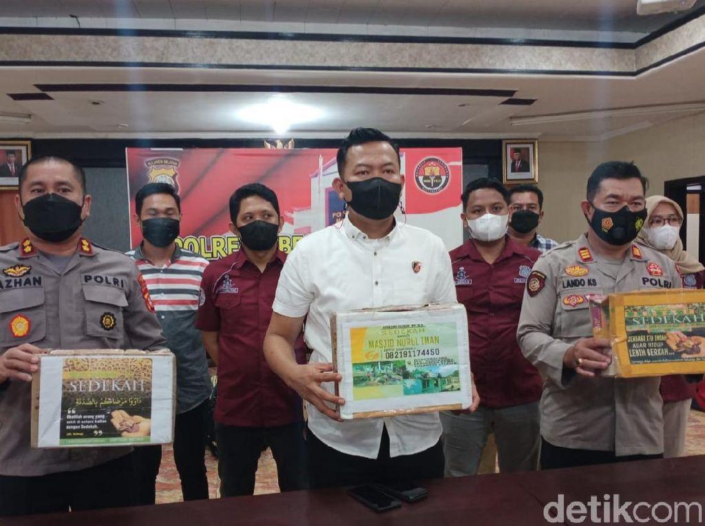 8 Pria di Makassar Ditangkap Usai Berbohong Minta Sedekah Sumbangan Masjid