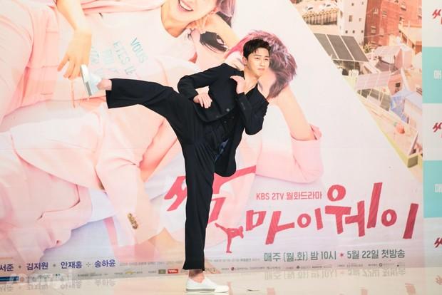Park Seo Joon di press conference KDrama 'Fight My Way'