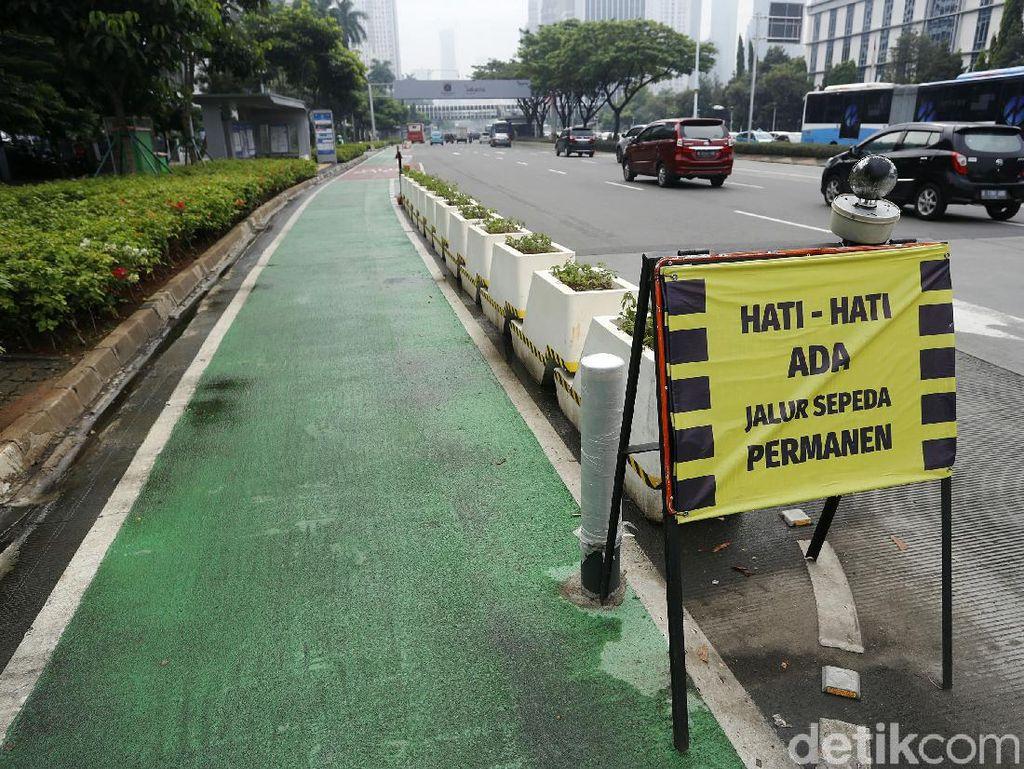 Uji Coba Bike to Work di Sudirman-Thamrin Dimulai Hari Ini